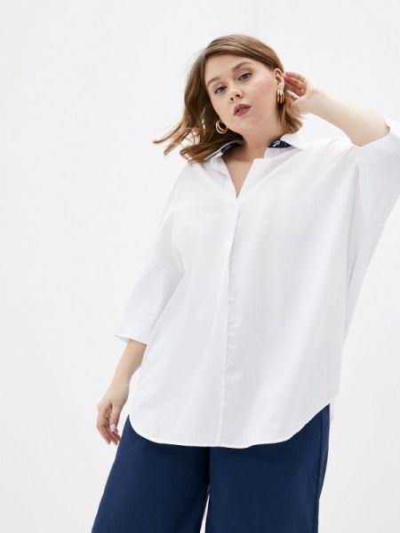 Рубашка с длинным рукавом белая Persona By Marina Rinaldi