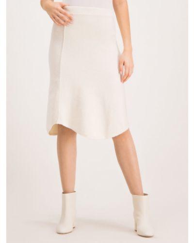 Spódnica trapezowa - biała Max&co.