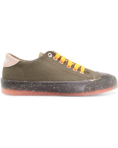 Zielone sneakersy F_wd