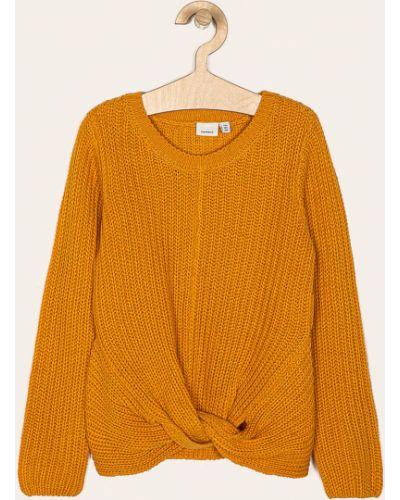 Желтый свитер Name It