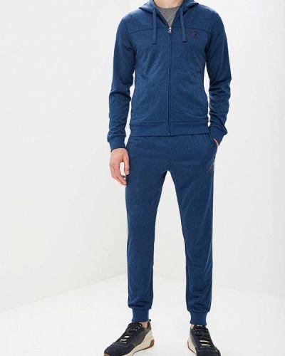 Синий спортивный костюм Ea7