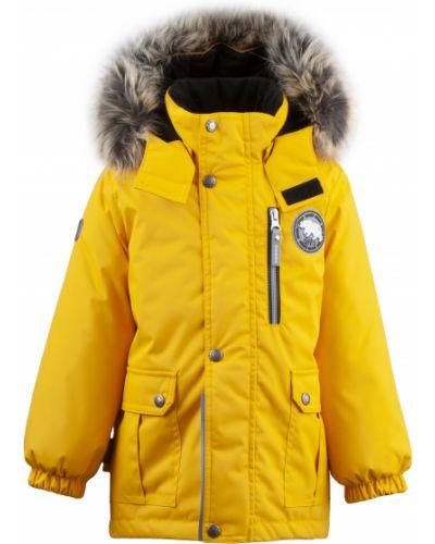 Зимняя куртка желтый Mothercare