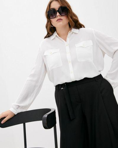 Бежевая зимняя блузка Elena Miro