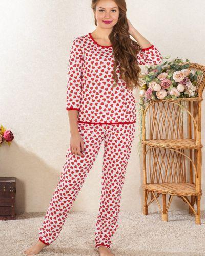 Пижама с начесом из футера Lena Basco