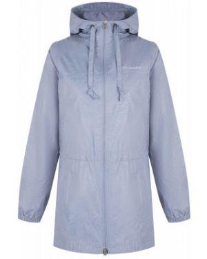 Приталенная серая нейлоновая куртка с капюшоном на молнии Columbia