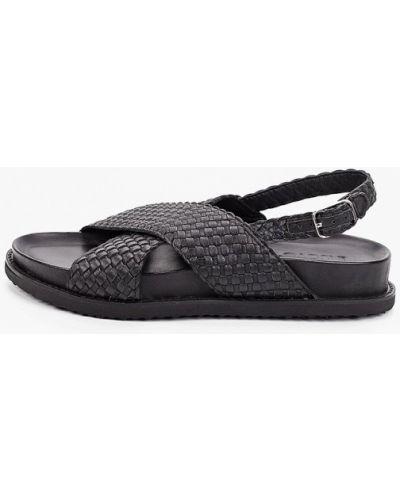Кожаные сандалии - черные Inuovo