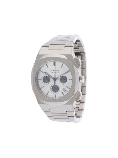 Часы серебристые - серебряные D1 Milano