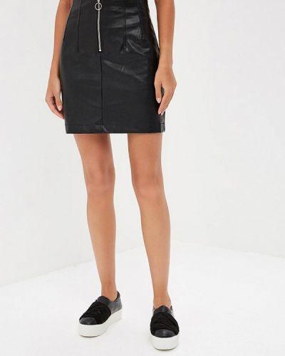 Черная юбка широкая Befree