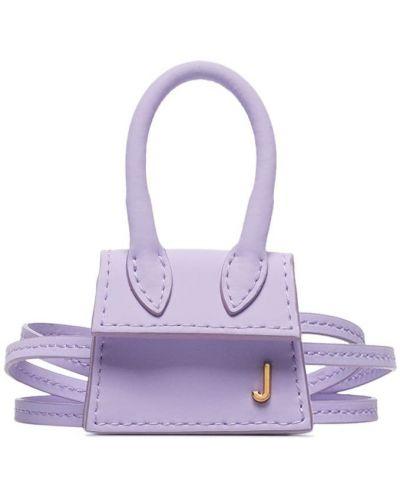 Кожаная сумка маленькая деловая Jacquemus