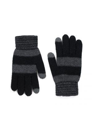 Czarne rękawiczki materiałowe Art Of Polo