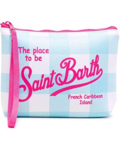 Розовая косметичка из неопрена Mc2 Saint Barth Kids