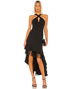 Коктейльное платье плиссированное сетчатое Bcbgmaxazria