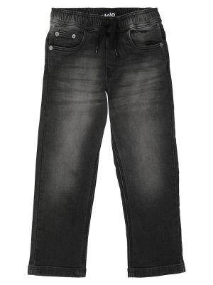 Джинсовые прямые джинсы - черные Molo