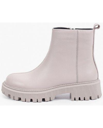 Серые демисезонные ботинки Covani