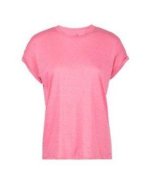 Футбольная розовая футболка Max & Moi