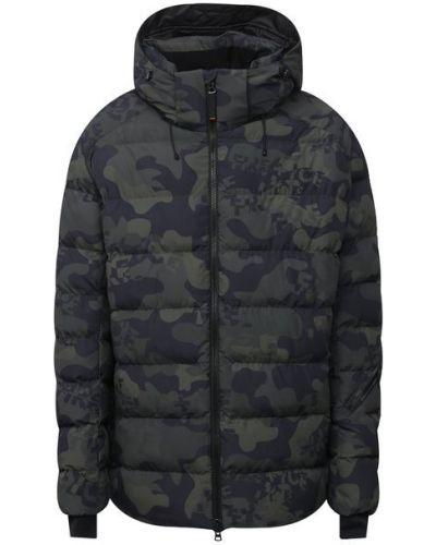 Зеленая утепленная куртка Bogner