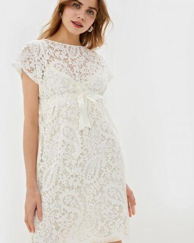 Платье прямое бежевое Danmaralex