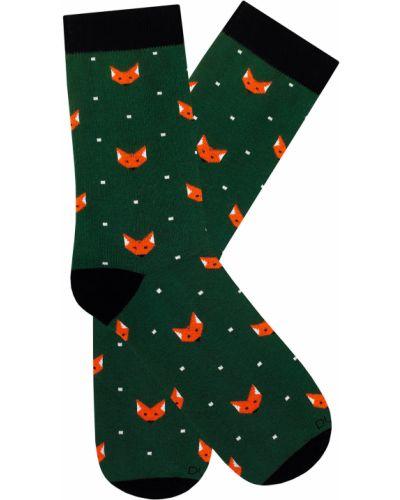 Зеленые носки Duna
