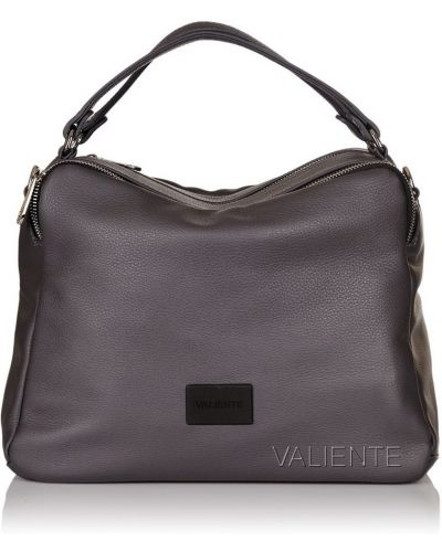 Кожаная сумка - серая Valiente