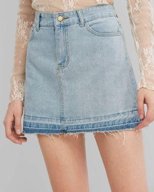 Юбка мини джинсовая пачка Zaful