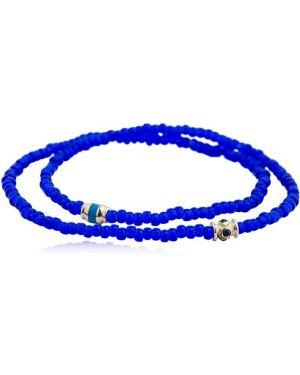 Niebieska złota bransoletka ze złota szafir Luis Morais
