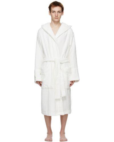 Z rękawami bawełna szlafrok z kapturem Tekla