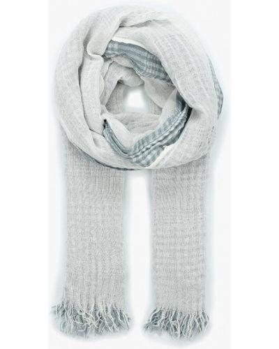 Белый шарф весенний Lorentino
