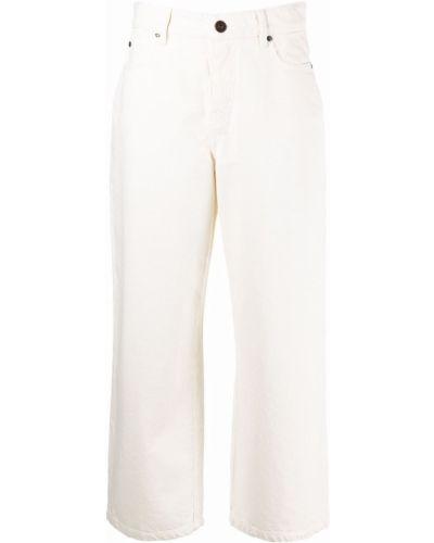 Белые джинсы с карманами Weekend Max Mara