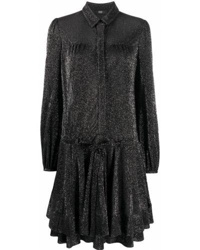 Платье макси длинное - черное Steffen Schraut