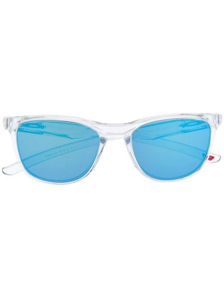 Солнцезащитные очки круглые хаки Oakley