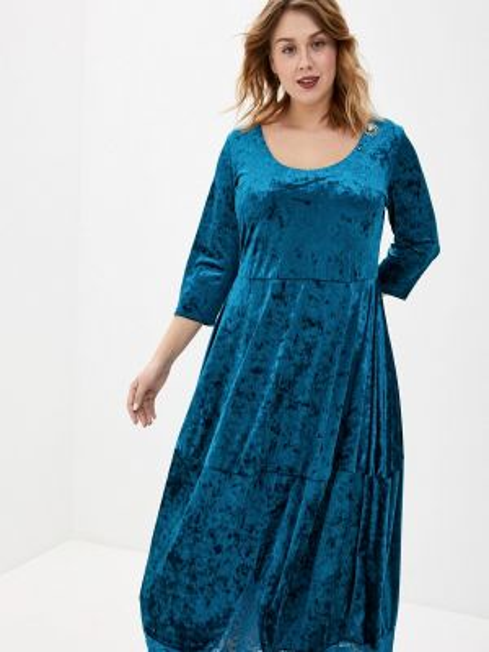 Вечернее платье - бирюзовое Артесса