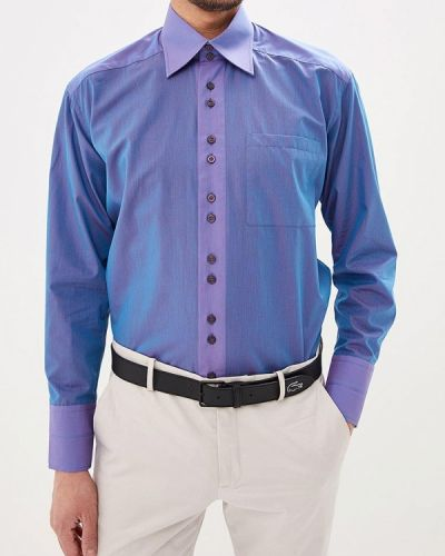 Рубашка с длинным рукавом фиолетовый Elijah & Sims