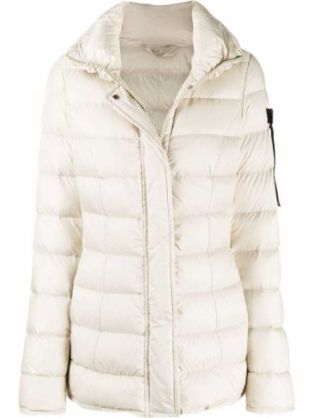 Пуховая стеганая куртка с карманами с перьями с длинными рукавами Peuterey