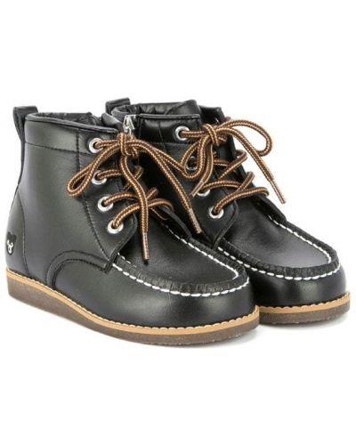 Ботинки черные Miki House