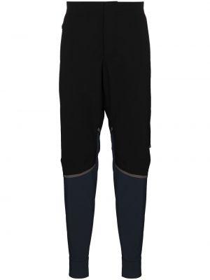 Спортивные брюки из полиэстера - черные On Running