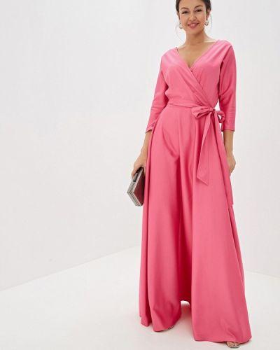 Вечернее платье розовое Mazal