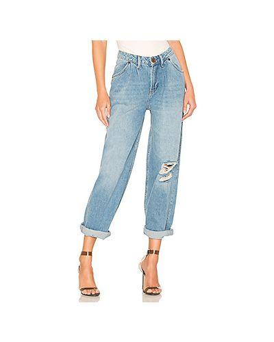 Широкие джинсы рваные турецкий One Teaspoon