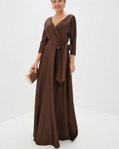 Вечернее платье - коричневое Mazal