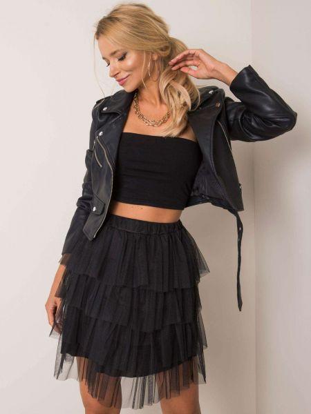 Czarna spódnica tiulowa Fashionhunters