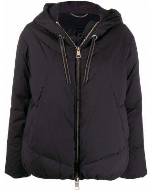 Куртка с капюшоном черная стеганая Liu Jo