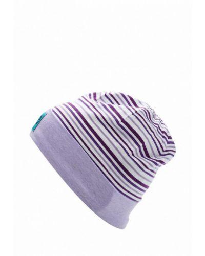 Фиолетовая шапка весенняя Tutu