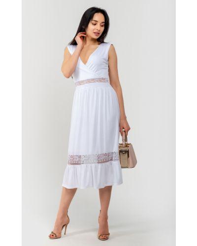 Кружевное платье с запахом Modniy Oazis