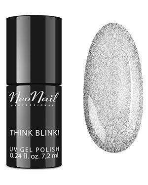 Гель-лак для ногтей серебряный Neonail Professional