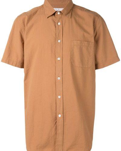 Рубашка с короткими рукавами фланелевая с карманами Portuguese Flannel