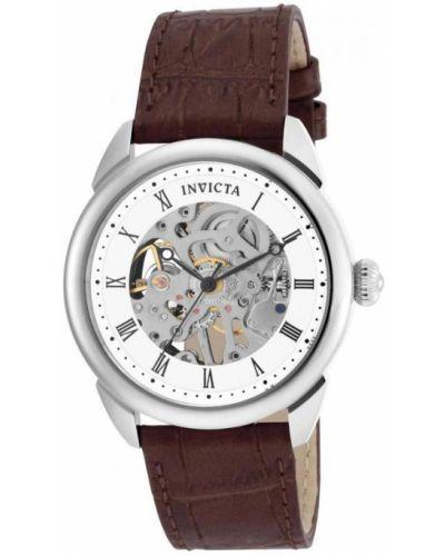 Zegarek mechaniczny - brązowy Invicta Watches