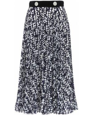 Ажурная плиссированная юбка Prada