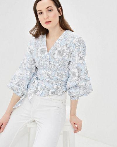 Блузка весенний голубой Befree