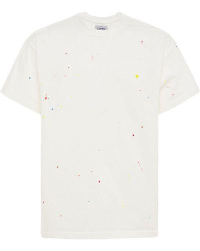 Biały t-shirt bawełniany Lc23