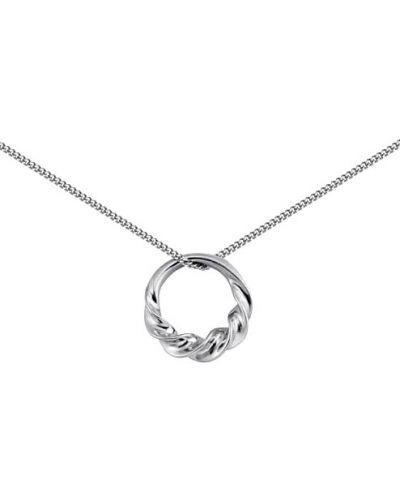 Подвеска на цепочке серебряный Nina Ricci