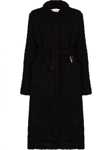 Черное флисовое пальто 1017 Alyx 9sm